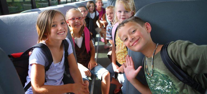 سفر کودکان با اتوبوس