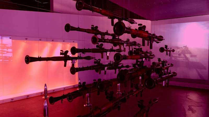 تالار اول، موزه دفاع مقدس از فهرست موزه های تهران