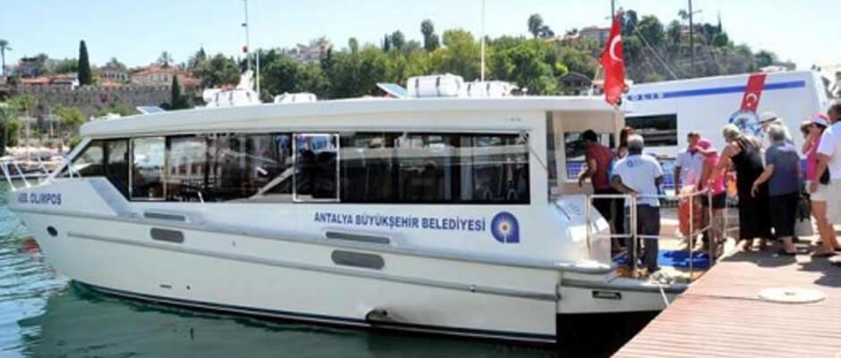 اتوبوس دریایی آنتالیا
