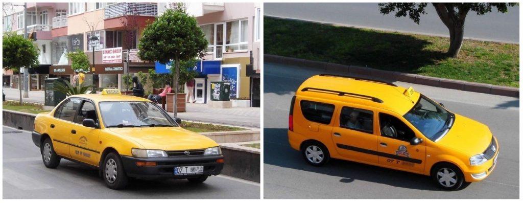 آنتالیا - تاکسی