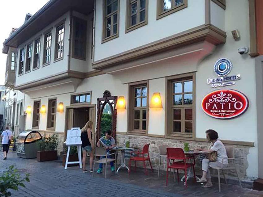 رستوران هتل پاتیو بیستو آنتالیا