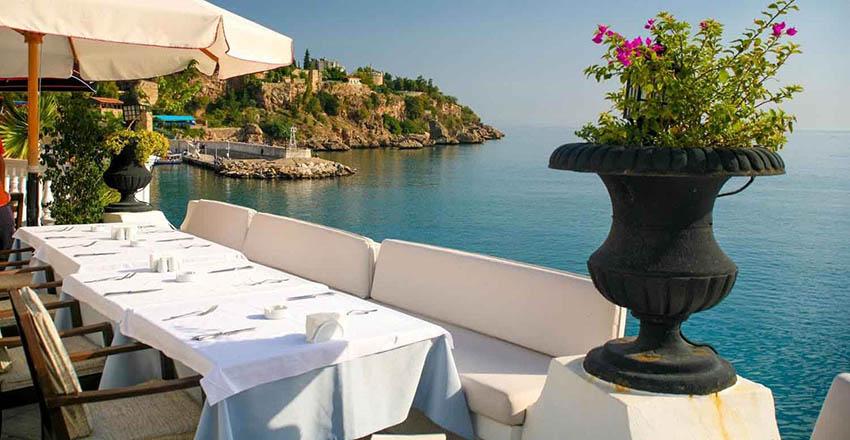 بهترین رستوران های آنتالیا