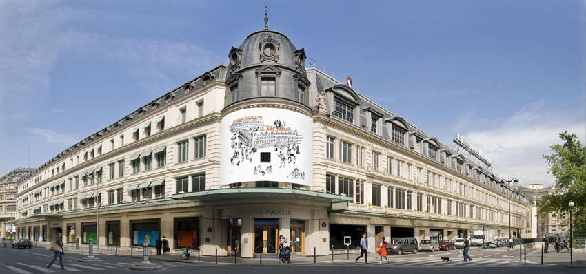 بن مارشه خرید در پاریس