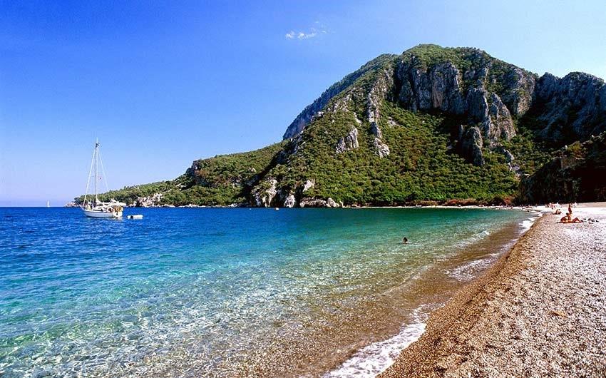 ساحل چیرالی آنتالیا ترکیه