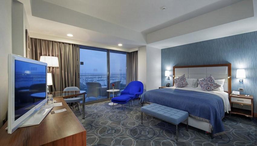 فضای داخلی هتل دابل تیری