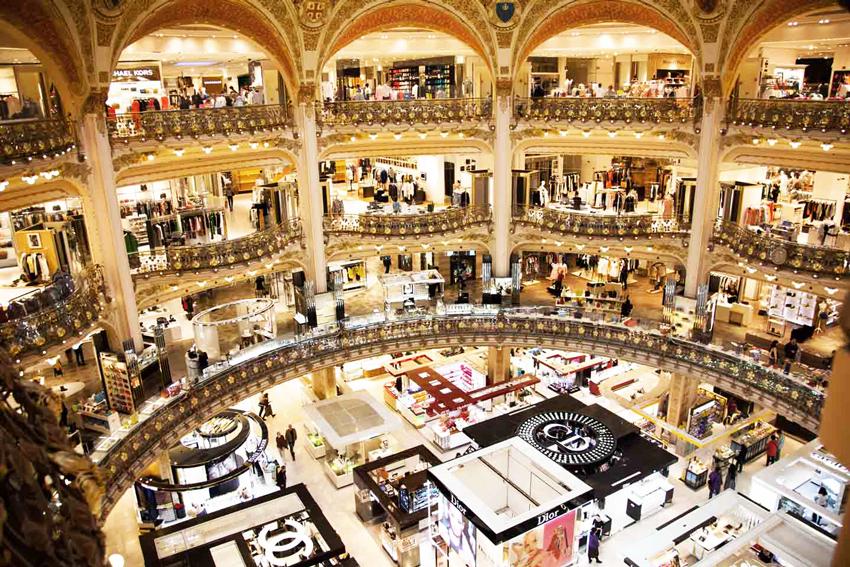 گالری لافایت خرید در پاریس