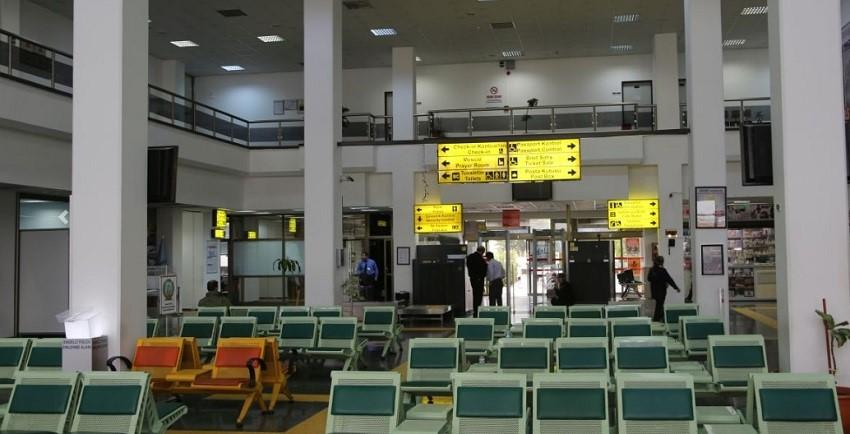 فضای داخلی فرودگاه اسپارتا