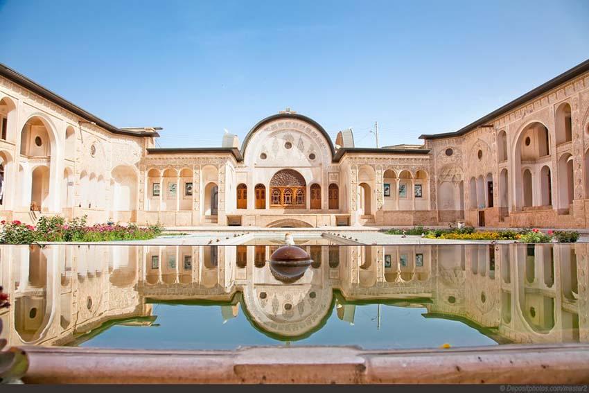 خانه طباطبایی ها - خانه های تاریخی کاشان