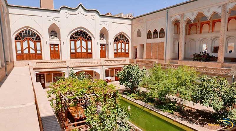 اقامتگاه خانه ایرانی کاشان اصفهان