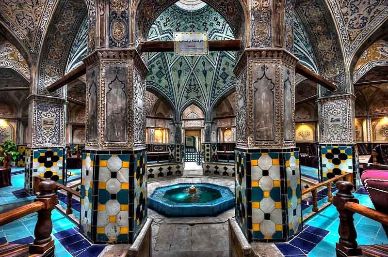 حمام سلطان احمد - جاهای دیدنی کاشان