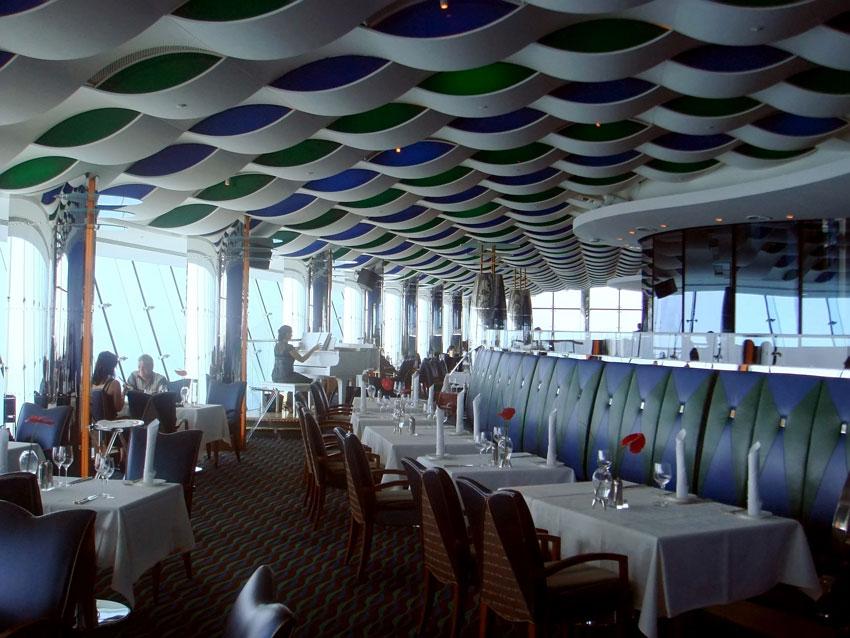 رستوران المنتهی برج العرب
