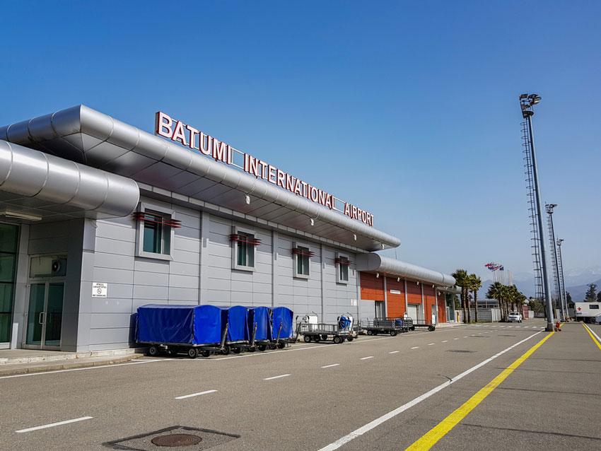فرودگاه باتومی در راهنمای سفر به گرجستان