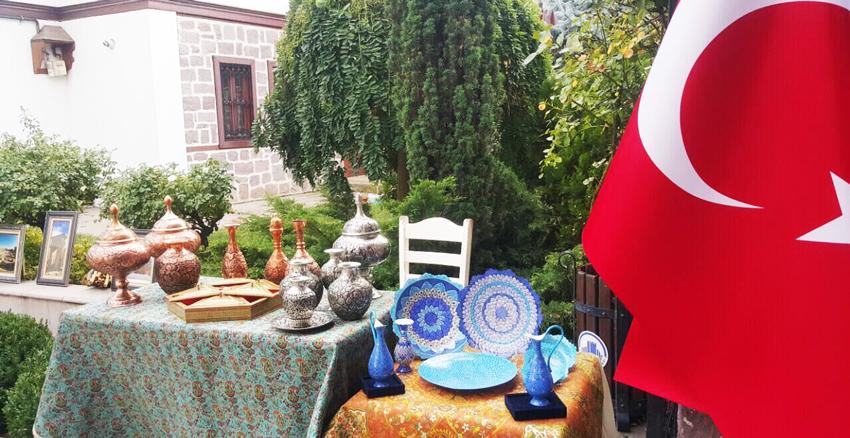 نمایشگاه گردشگری ایران آنکارا
