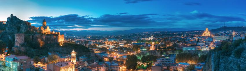 تفلیس در راهنمای سفر به گرجستان