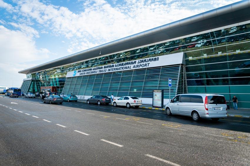 فرودگاه تفلیس در راهنمای سفر به گرجستان