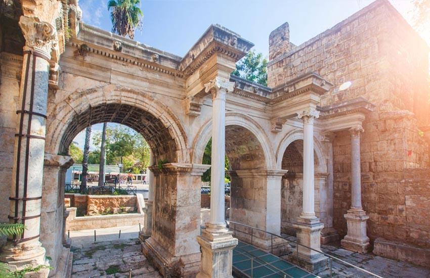 جاهای تاریخی آنتالیا