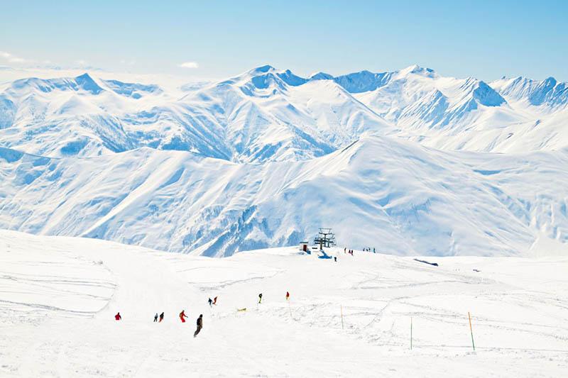بهترین زمان سفر به گرجستان - زمستان