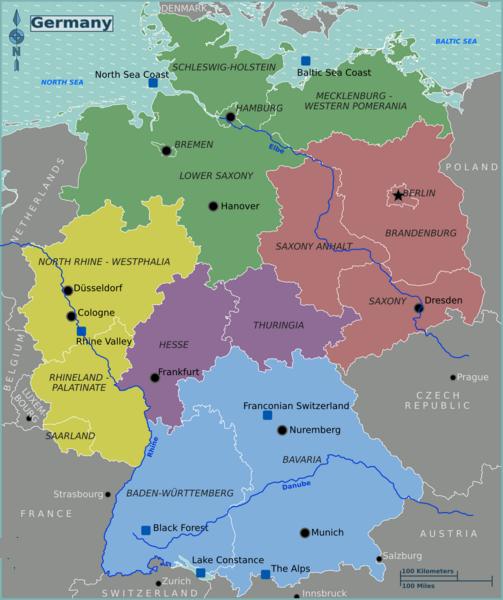 آلمان روی نقشه