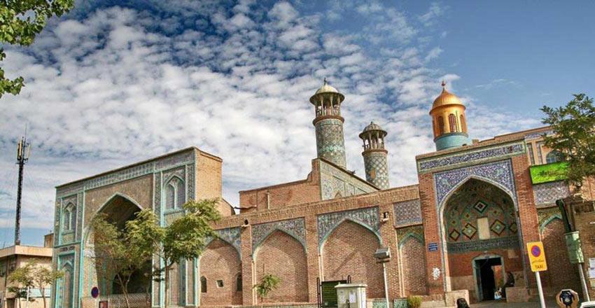 مسجد جامع از دیدنی های سنندج