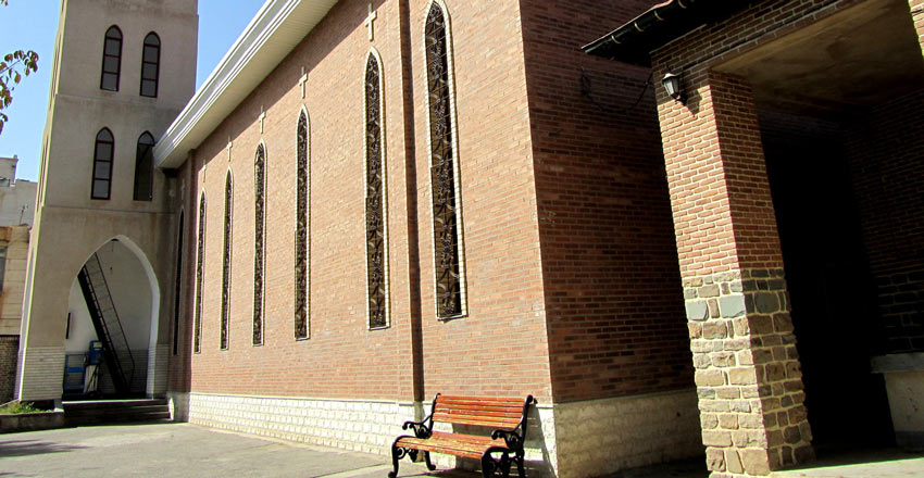 کلیسای ننه مریم از دیدنی های ارومیه