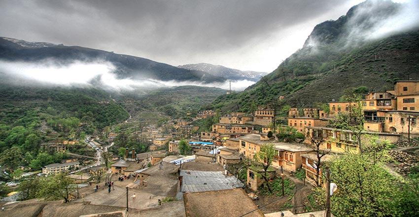 روستای پالنگان از بهترین جاهای دیدنی سنندج
