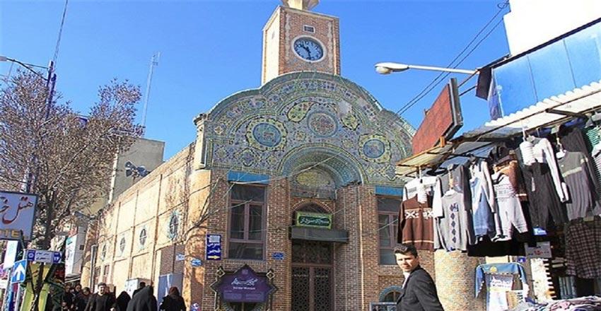 مسجد سردار از جاهای دیدنی ارومیه