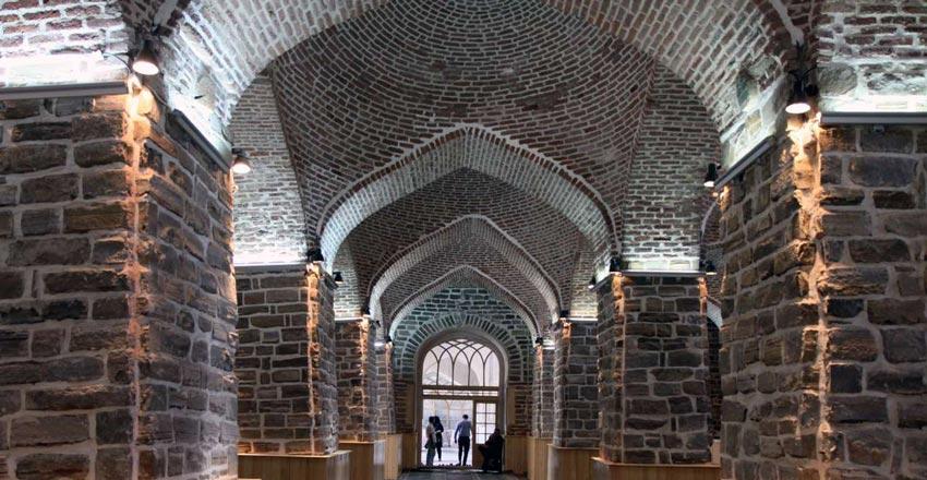 مسجد جامع ارومیه از مکان های دیدنی ارومیه
