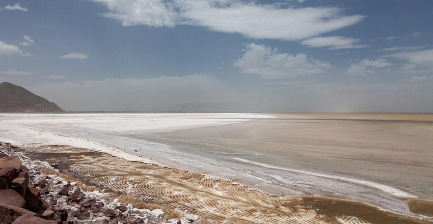 دریاچه ارومیه از جاهای دیدنی ارومیه