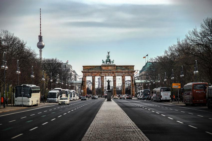 دروازه براندنبورگ در برلین