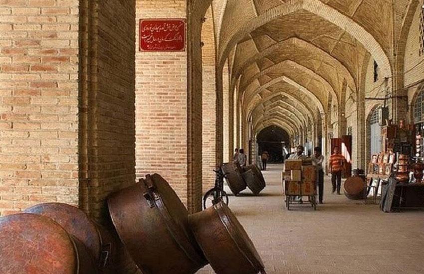 بازار کرمان از زیباترین جاهای دیدنی کرمان