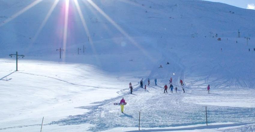 پیست اسکی از مکان های دیدنی ارومیه
