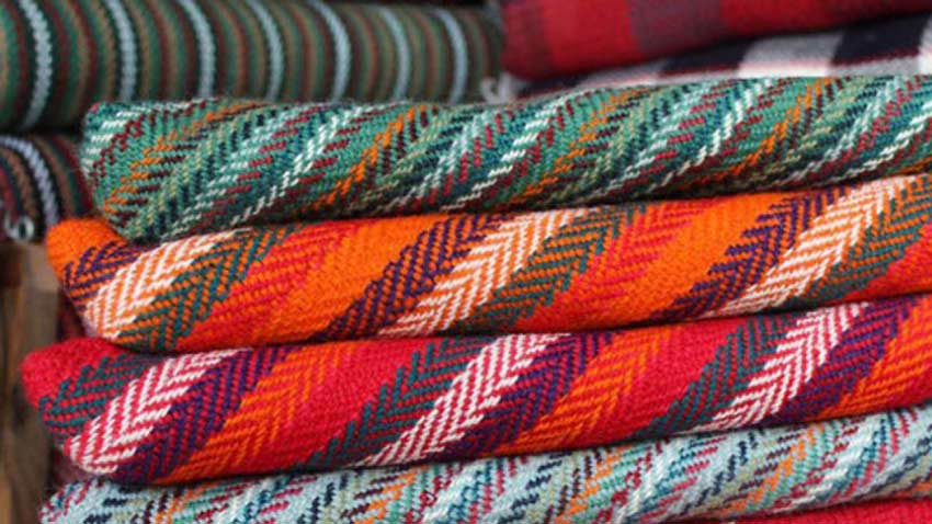 جاجیم از صنایع دستی قزوین