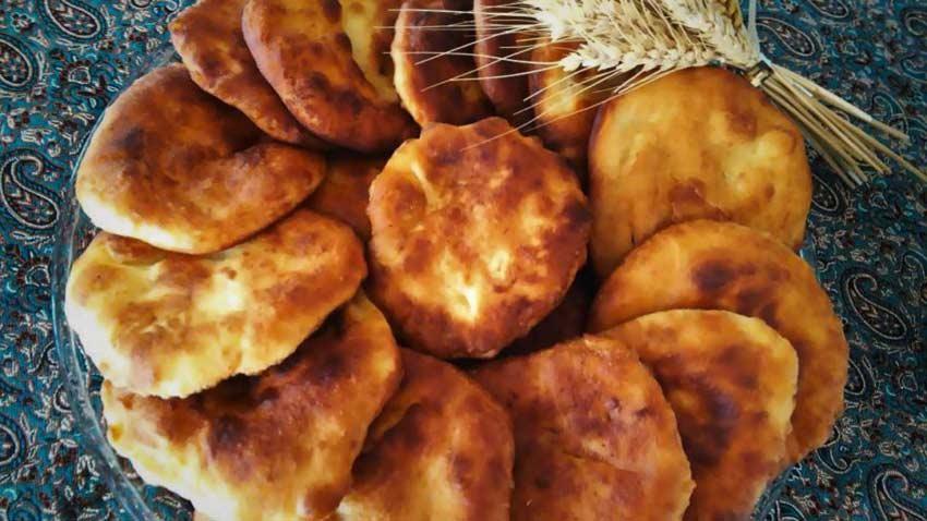 نان اَگِردَک قزوین