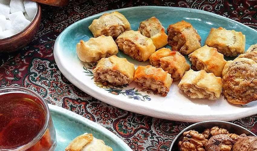 نان نازک قزوین - سوغات قزوین