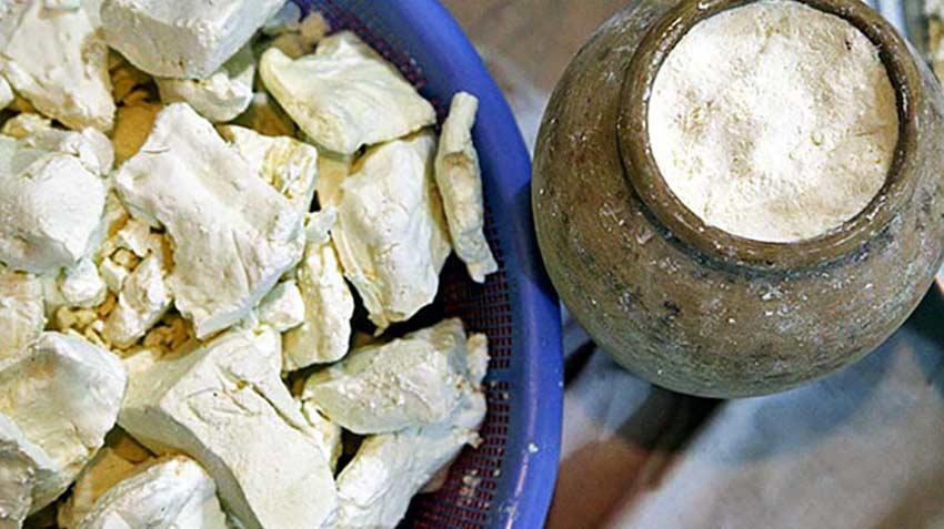 پنیر کوزه ای سوغات قزوین