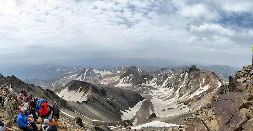 علم کوه از بهترین مسیرهای پیاده روی ایران