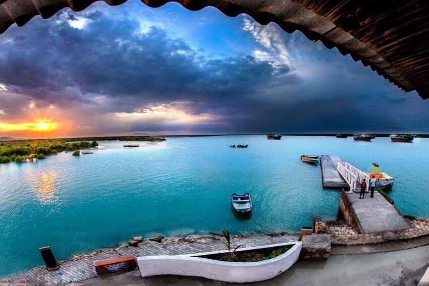 ساحل چپکرود از زیباترین سواحل شمال ایران