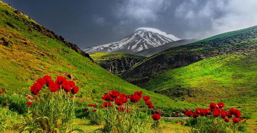 دماوند - زیباترین مسیرهای پیاده روی در ایران