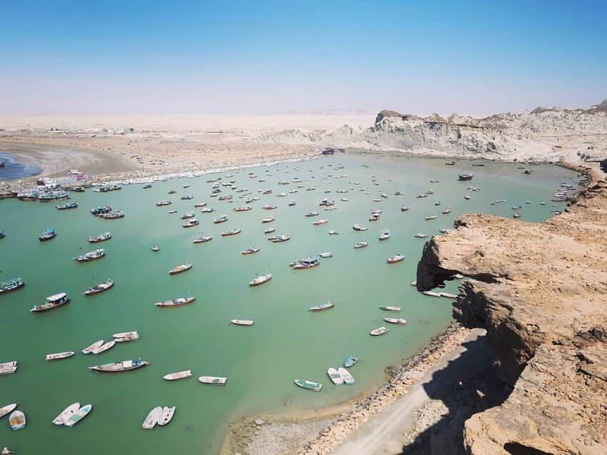 ساحل بریس از زیباترین ساحل های ایران
