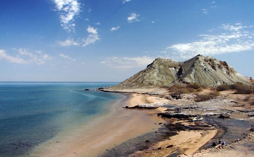 جزیزه هرمز از زیباترین جزایر ایران