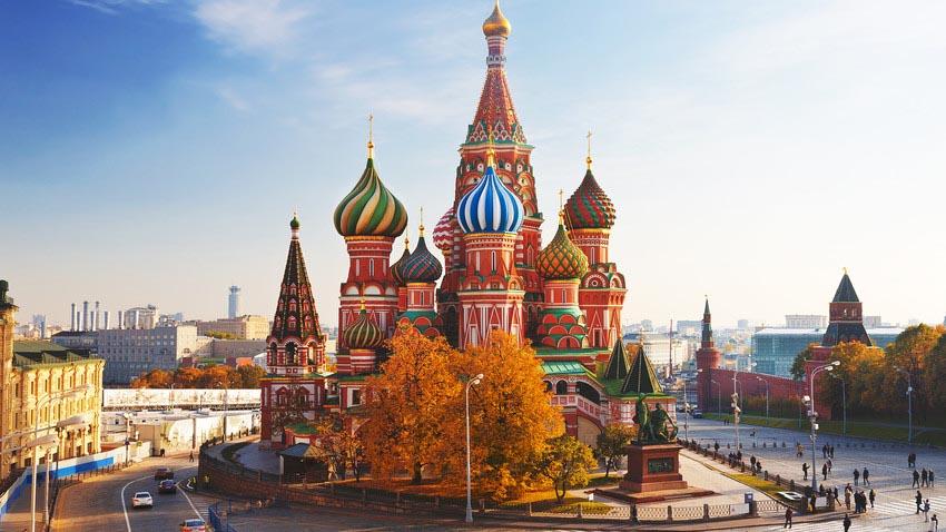 مکان های دیدنی روسیه