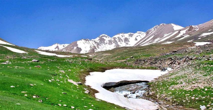 مسیرهای پیاده روی در ایران - سبلان