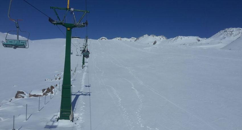 پیست اسکی آلوارس از جاهای دیدنی اردبیل