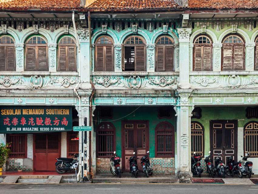 شهر جرج تاون مالزی