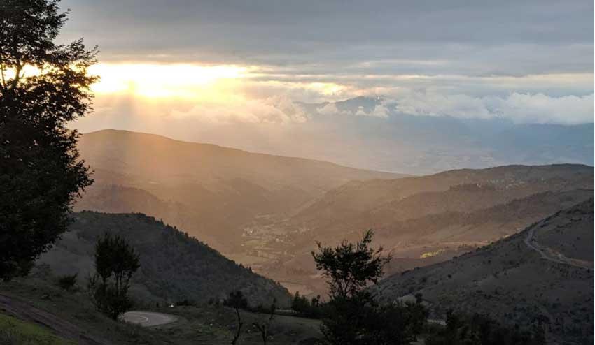 روستای داماش از مناطق بکر شمال