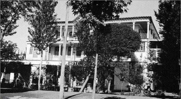 آمریک هتل در چهارباغ قدیم اصفهان