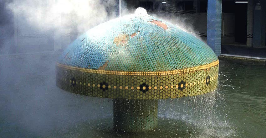 چشمه های آب گرم ایران
