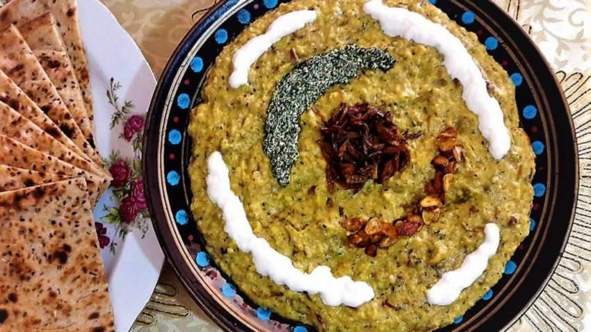حلیم بادمجان از غذاهای سنتی اصفهان