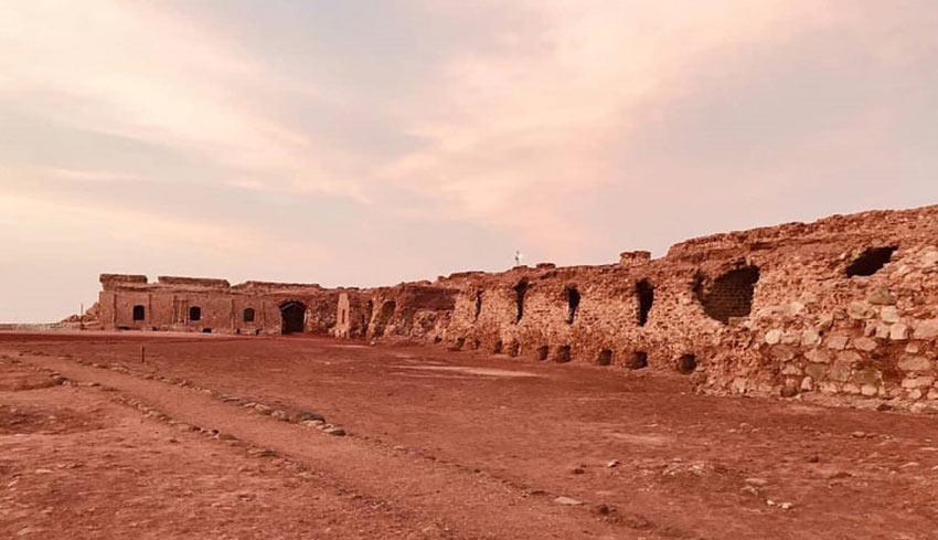 دیوارههای قلعه پرتغالیها