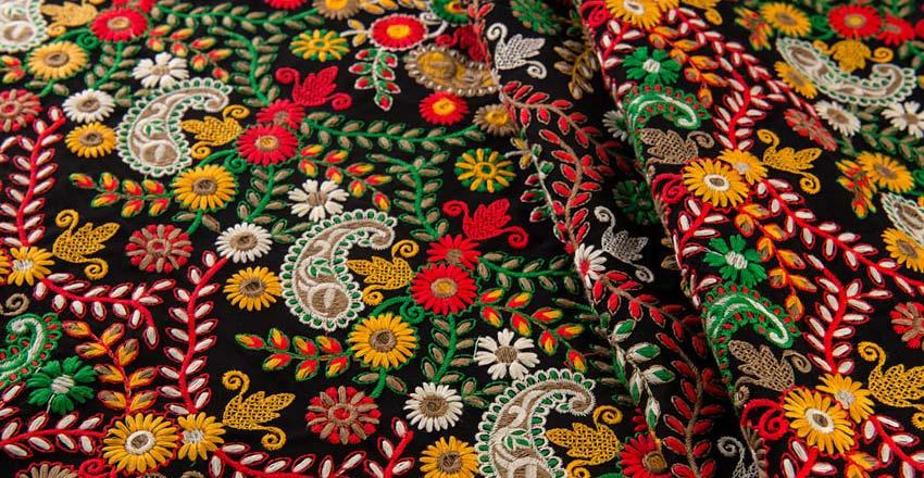 سوزن دوزی - صنایع دستی چابهار